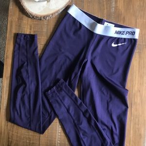 Nike Pro Plum Leggings